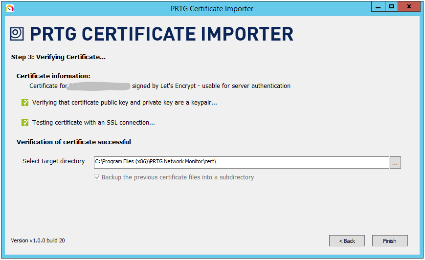 Mata.com.hr Let\'s encrypt certificate for PRTG on Windows Server ...